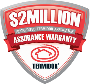 Termidor $2 Million Assurance Warranty - RIP Termite & Pest Control